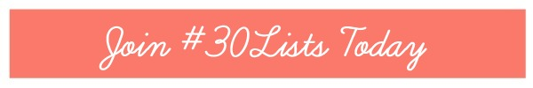 honeysuckle 30Lists Today