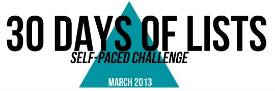 March 2013 Self Paced Challenge